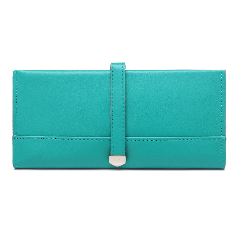 New Cow Leather Wallets Women Genuine Leather Coin Purse 2016 Ladies Clutches Bags Flower Card Holder Handbags Ultra-thin Pouch(China (Mainland))