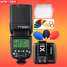 Buy Godox TT685 TT685N 2.4G Wireless i-TTL High-speed sync 1/8000s GN60 Flash Speedlite + X1T-N- Transmitter Nikon DSLR Camera for $164.99 in AliExpress store