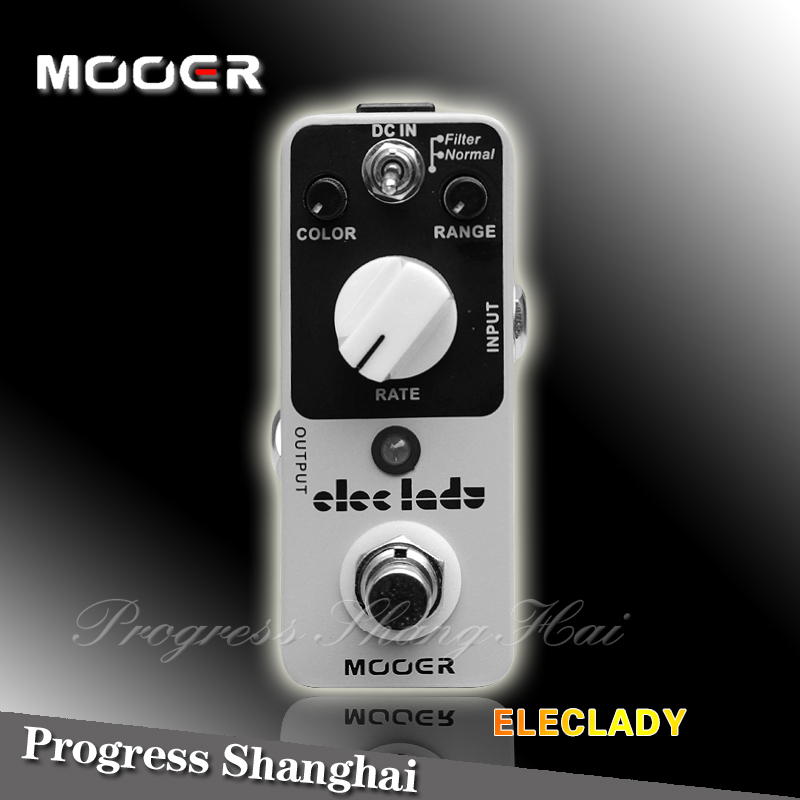 Guitar Effect Pedal /MOOER Eleclady Pedal True bypass Classic analog flanger sound