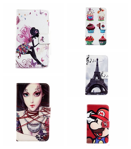 Hot Sale Skin Pouch PU Leather Case Phone Case Painted In Stock Book Style Stand Flip Cover 5PCS/Lot For Samsung wifi 5.0/ G70(China (Mainland))