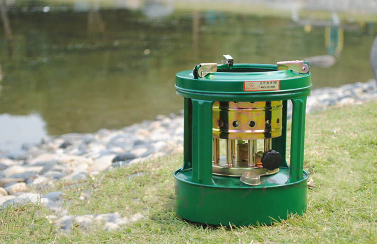 Free Delivery Type 168 Kerosene stove Camping stoves Integrated 8-core Burner Outdoor Mandatory KDS001