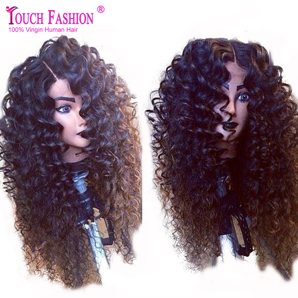 Гаджет  Hotsale!! Virgin Brazilian Deep Curly Lace Front Wig Glueless Front Lace Wigs With Natural Style Curly For African Americans None Волосы и аксессуары