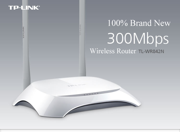 TP LINK TP-LINK TL-WR842N Wireless WIFI Router 300Mbps access point signal booster 5 ports router for home/ Computer(China (Mainland))