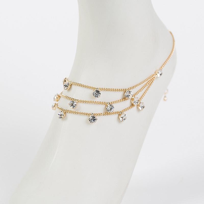 Brand Tassel Anklet 2016 New Ankle Bracelet Gold Color ...