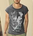 Men s Casual sleeveless T shirtsTees skull pattern Print short Sleeve Men Comfortable t shirts New