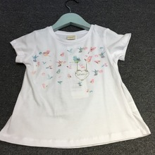 Buy 2 3 4 5 Years old Toddler cotton tops Kids baby Girls summer T-shirt Butterfly Print T shirts Children Clothing T shirt vestido for $12.40 in AliExpress store
