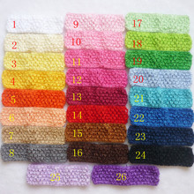 Buy 52pcs/lot Free Girls Hair band Crochet Headbands Children Hair bands Kids Hair Accessories 26 color stock D01 for $10.28 in AliExpress store