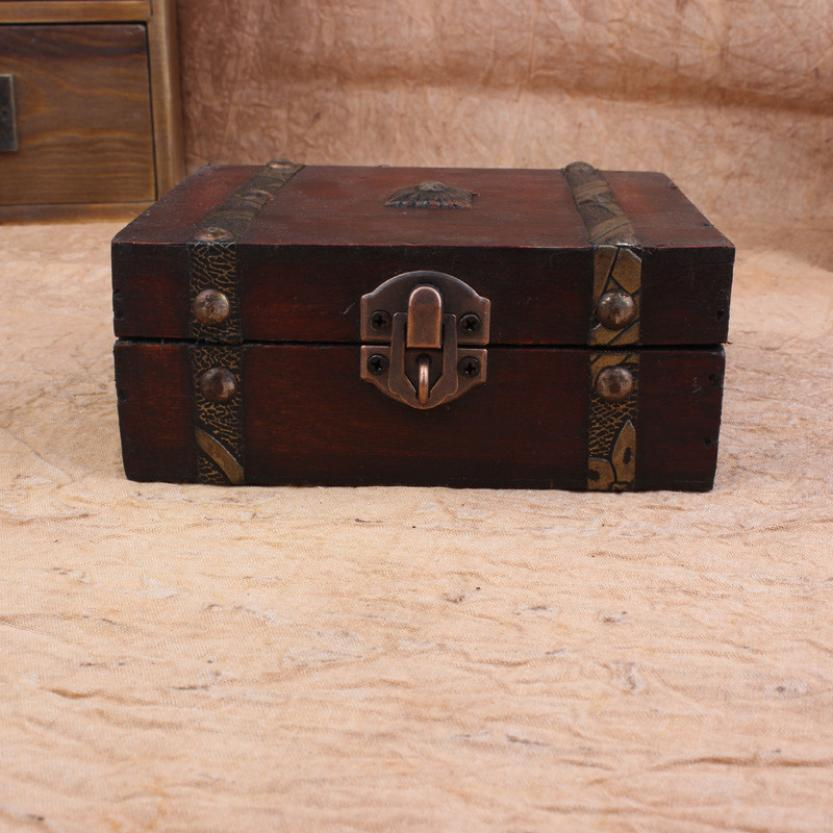 Decorative boxes with locks : Popular lacquered wood box buy cheap