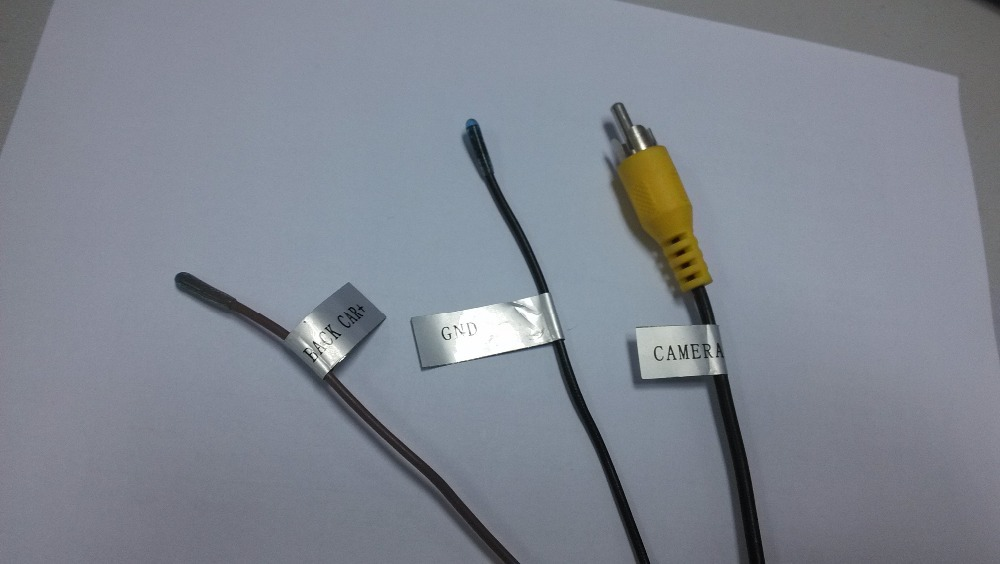 hyundai IX45 Santa fe 2012~2014 reversing visual video adapter cable,adapt original car rear view camera - cool automotive electronics store