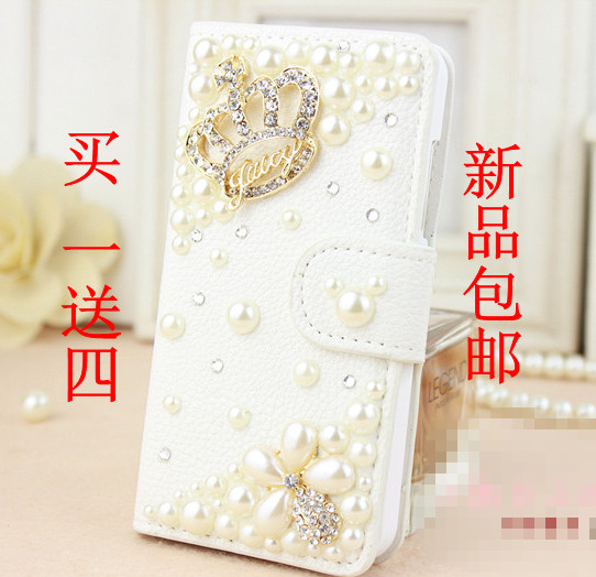 capa para vintage Luxury brand rhinestone diamond flip pu leather case for nokia n8 lumia 620 920 800 520 phone bag fashion(China (Mainland))