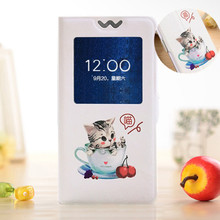 Buy Flip cover LG K10 K410 K420N K430DS K430DSF/ LG M2 F670 5.3'' phone case cartoon paint painted stand phone case 20 styles for $2.85 in AliExpress store