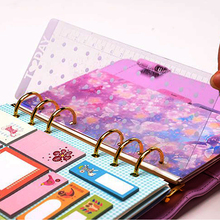 2016 New Dokibook Straight Ruler Loose-leaf Today Rulers Frosted Transparent Mint Cute Kawaii White Polka Dot Rulers(China (Mainland))