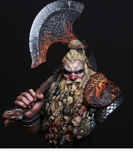 Scale Models 1/10 Dwarf Dragon Resin Bust Model Free Shipping(China (Mainland))