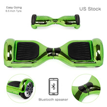 7 INCH  Scooter 2 Wheel Self Smart Balance Scooter Electric Skateboard  US stock with Chrome  Hoverboard for Kids Adult