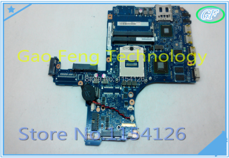Laptop motherboard H000053270 For Toshiba Satellite Pro L50 hm86 DDR3 Non-integrated Socket PGA947 E220370 VGSG MB 100% tested(China (Mainland))