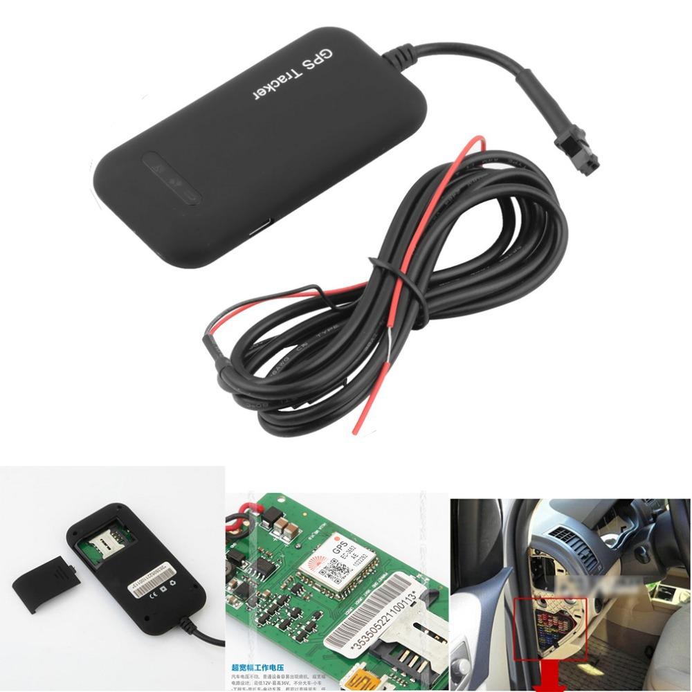 Гаджет  4 Band Car GPS Tracker Guaranteed 100% 4 band car GPS tracker GT02A Google link real time tracking free shipping None Автомобили и Мотоциклы