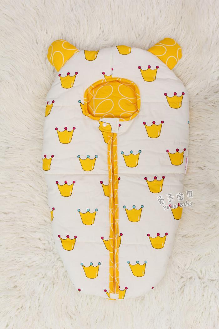 Скидки на 24 цветов Детские Спящий медведь pattern Детские Конверт Мешок Сна Ватки Младенец Держит для Коляски Одеяло Пеленание Младенца 0-6 М