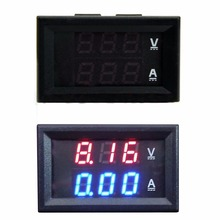 Hot Selling 2015 New Arrival DC 100V 50A Voltmeter Ammeter Blue + Red LED Amp Dual Digital Volt Meter Gauge