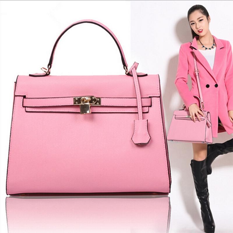 2015 New Arrivals Genuine Leather Flap Designer Shoulder Bag Candy Colors Korean Style Medium Bag 2227<br><br>Aliexpress