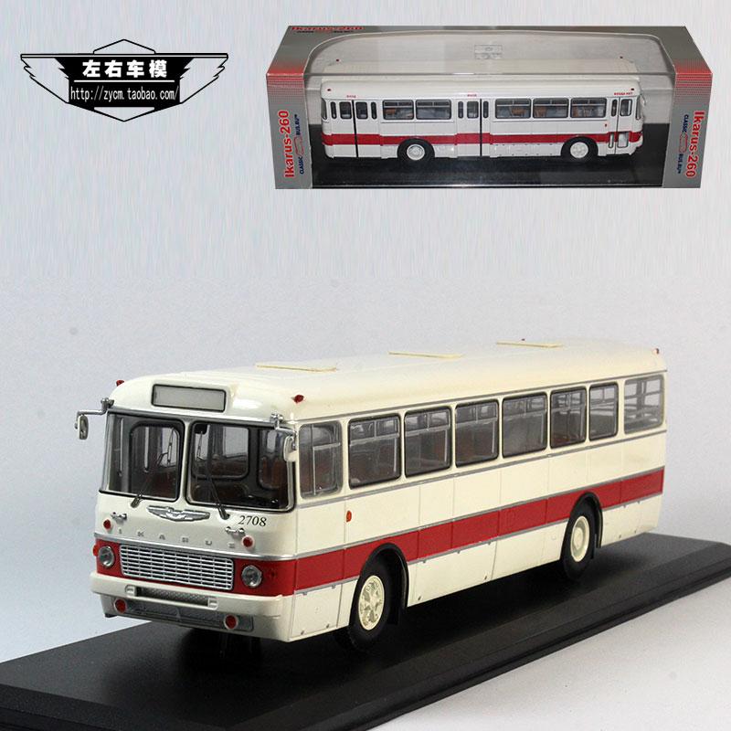 The original 1:43 IKARUS-556 yikalus 556 bus bus model of Soviet Russia(China (Mainland))