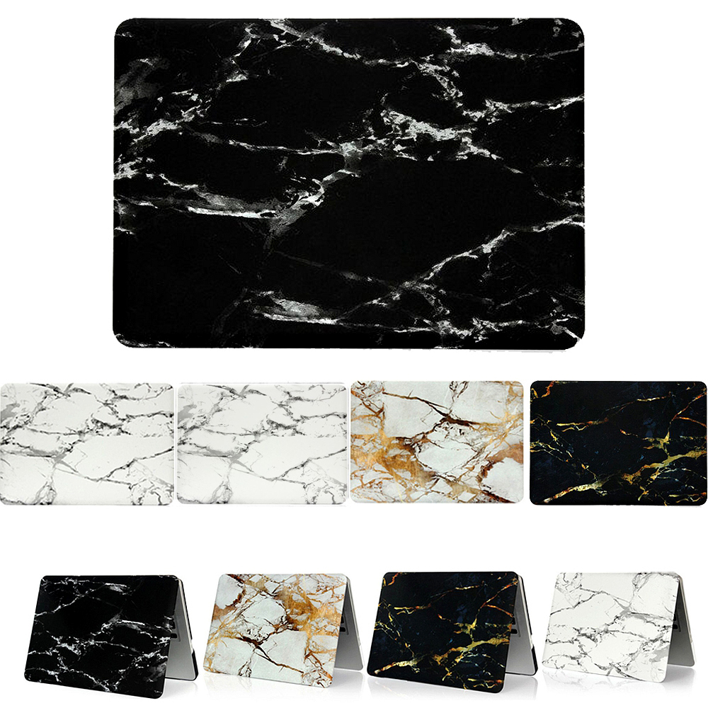 Newest Black White Marble Texture Cover For Funda Macbook Case Air 11 13 Pro Retina 12 13 15 inch 360 Protector Skins Laptop Bag(China (Mainland))