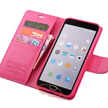 Meizu m2 note case 5.5inch high quality Genuine leather material Super Thin Hard mobile phone Cover for meizu m2 note