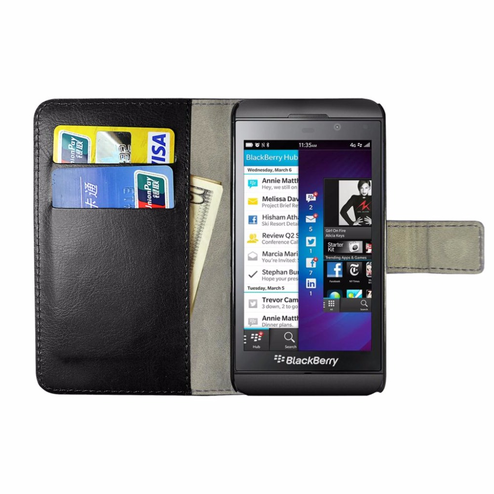 Cover Case For Blackberry Z10 Brand Book Flip PU Leather Wallet With Stand Cover Phone Cases Shockproof Anti-dirty(China (Mainland))