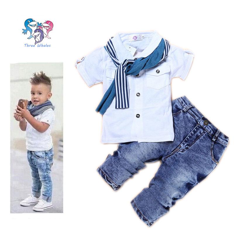 Boys Boutique Clothing Set Cotton Kids Designers Clothes
