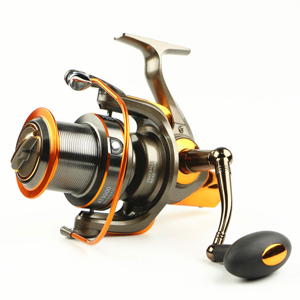New distant wheel fishing reel at8000 9000 13 1bb 4 6 1 for 13 fishing spinning reels