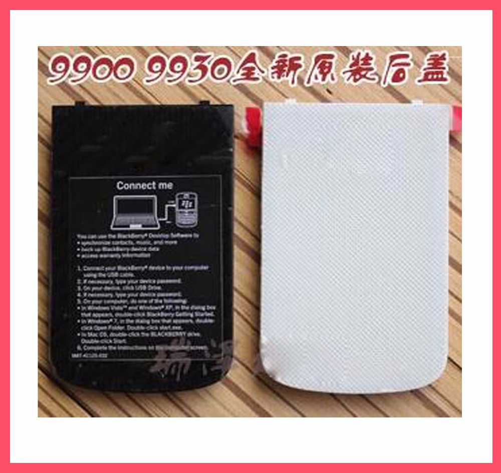 Battery Door Back Cover Case Replacement Part For BlackBerry Bold 9900(China (Mainland))