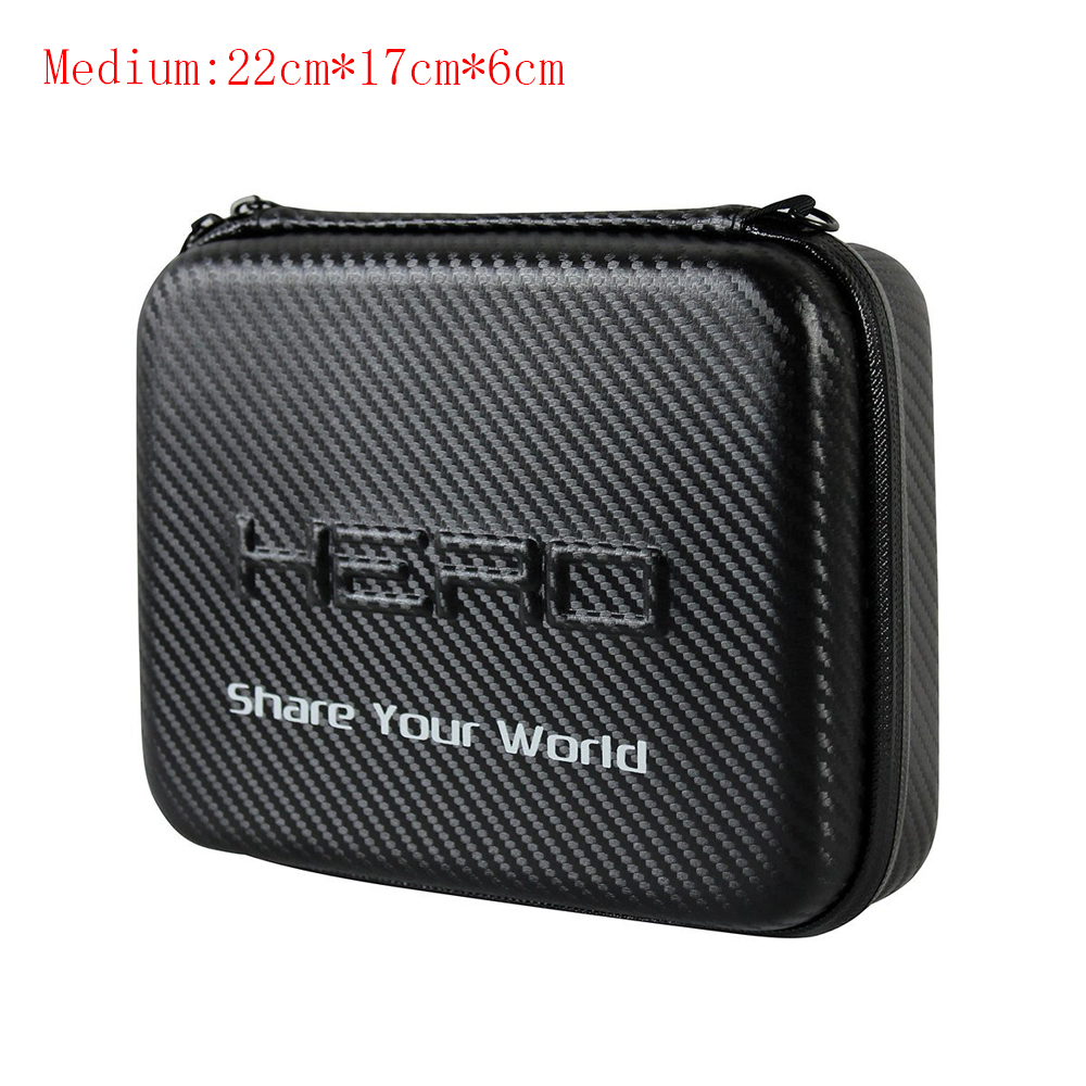 Go pro Medium New Travel Storage Collection Waterproof Bag Case for GoPro Hero 4/3+/3/2 SJ4000/SJ5000 Action Camera Accessories(China (Mainland))