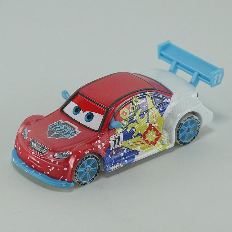 Pixar Cars cup ice Russian Vitaly Petrov Diecast Metal Racer toy car for children 1:55 Loose new brand Stock Lightning McQueen(China (Mainland))