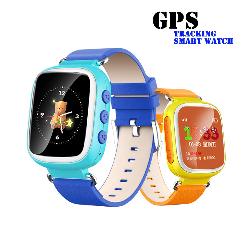 gps child tracking smart bracelet smart watch for kids smartwatch app for iphone ios android big and full-color screen #179(China (Mainland))