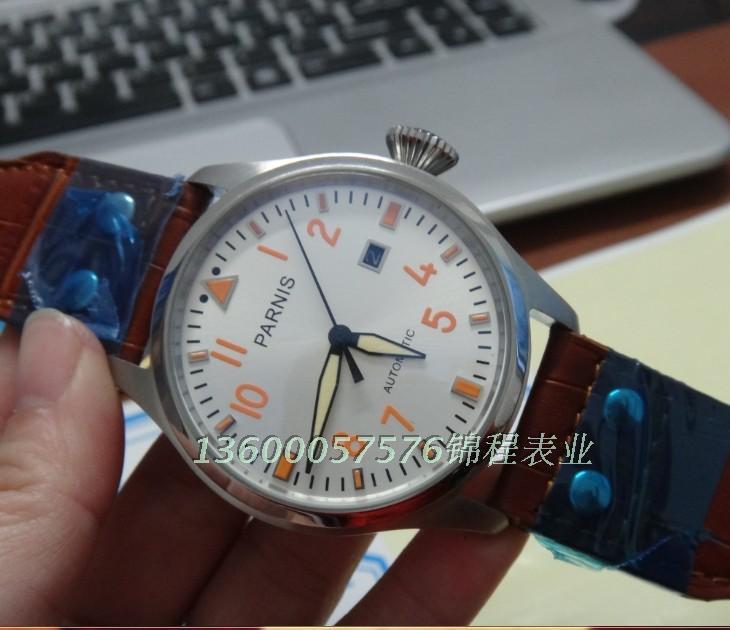 PARNIS automatic mechanical men's watches big German pilot model