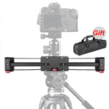 Buy New Professional 400mm Shooting Video Track Slider Dolly Stabilizer System Canon Nikon Sony Pentax DSLR Camera DV Camcorder for $96.60 in AliExpress store