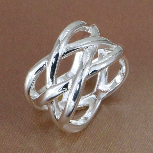 Lose Money Promotions! Wholesale 925 silver ring, 925 silver fashion jewelry, Fish Web Ring R010(China (Mainland))