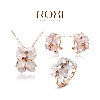 ROXI Brands fashion women weddings sets, Austrian crystal,Engagement Wedding gifts/free shipping,wholesale ,best Christmas gifts