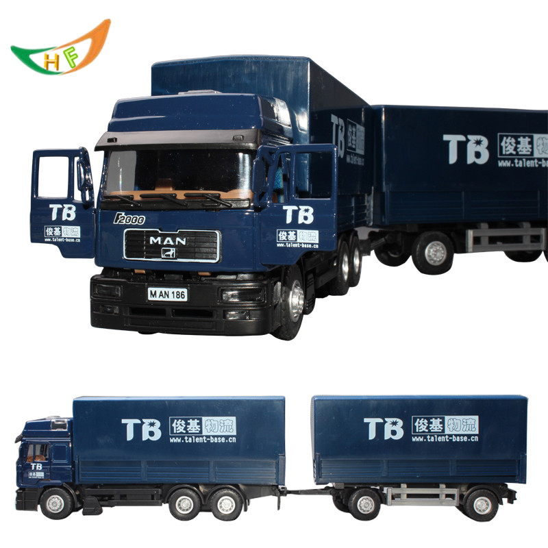 Stacking container Brinquedos car transport toys for children scania alloy large model toys truck(China (Mainland))