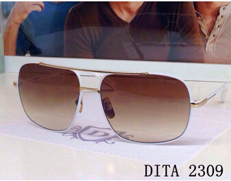 8.25 super deals Special offer exclusive Dita 2309 Owens skinny classic glasses UNISEX SUNGLASSES rivets box thumps(China (Mainland))