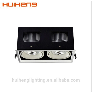 high power cob dimmable commercial LED GRILLE LIGHTS H-LCL003-2(China (Mainland))