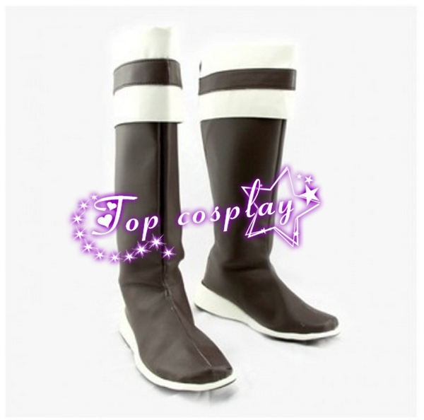 Sword Art Online ALO Lyfa Cosplay Boots shoes Version B #SA041(China (Mainland))