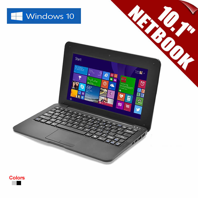 """10.1inch 10.1"""" Netbook Quad Core PC Windows 10 Netbook CPU 1.33GHz Wifi 2GB RAM 32GB DDR HDMI Support MS Office Russian Language(China (Mainland))"""
