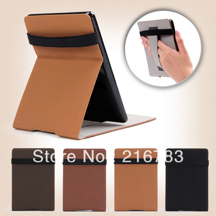 100 Pcs/Lot 2014 New Luxury Retro High Quality Smart Flip PU Leather Cover Case for Amazon Kindle Paperwhite  Free Shipping DHL<br><br>Aliexpress