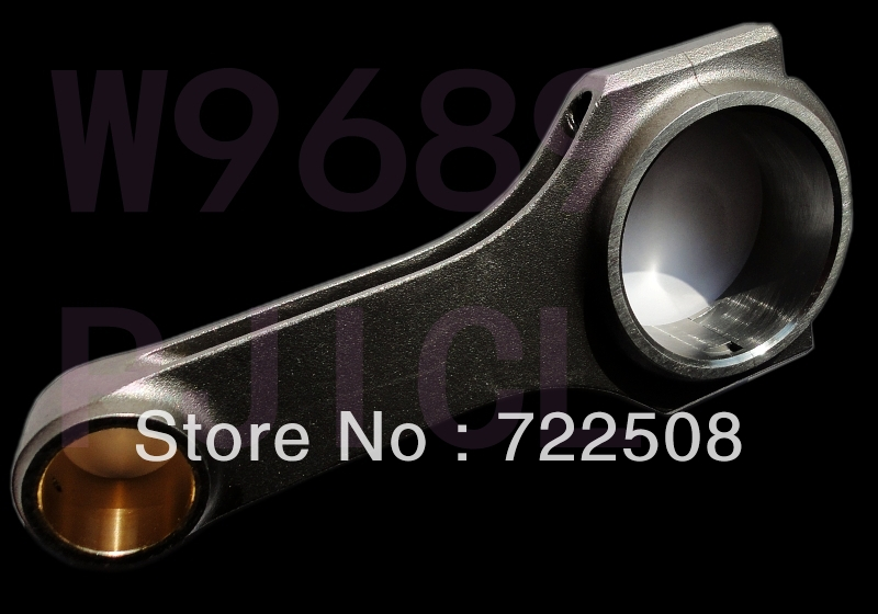 forged connecting rod for lada 1600 vaz 2121 type r race car tuning racing 4340 billet steel free shipping quality warranty(China (Mainland))