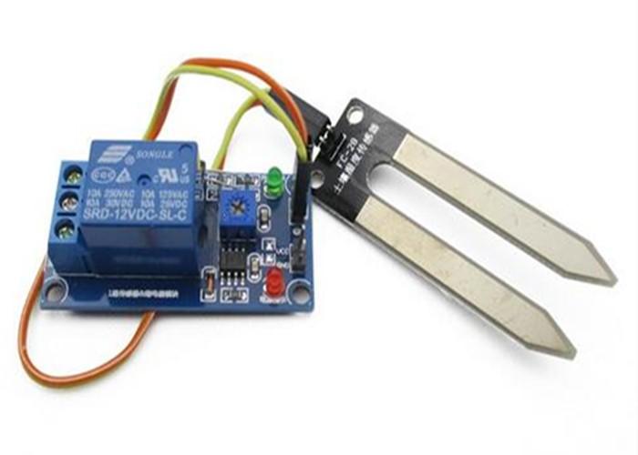 12v humidity sensor Soil Moisture Sensor Humidity Detection Relay Sensor Module Water Sensors for Arduino Smart Car Robot