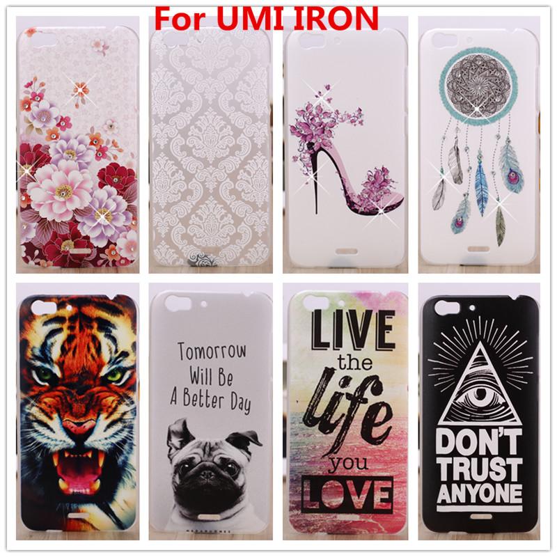 Гаджет   UMI IRON Case,Luxury Crystal Diamond 3D Bling Hard Plastic Cover Case For UMI IRON Cell Phone Cases None Телефоны и Телекоммуникации