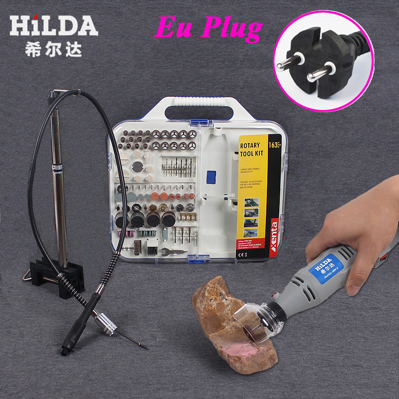 220V Mini Dremel Electric Grinder Drill Motor with 102pcs Polishing Drilling Grinding Sawing Honing Accessories Abrasive Tools<br><br>Aliexpress