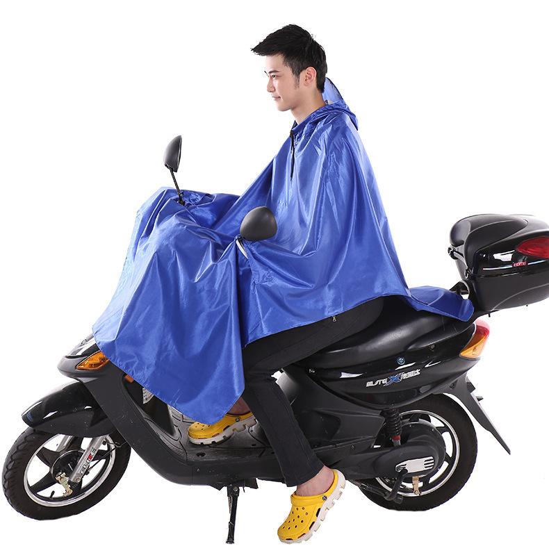 Oxford Transparent PVC Mens Raincoat Motorcycle,Rain coat Poncho capa de chuva de motoqueiro Chubasquero mujer With Big Hat(China (Mainland))
