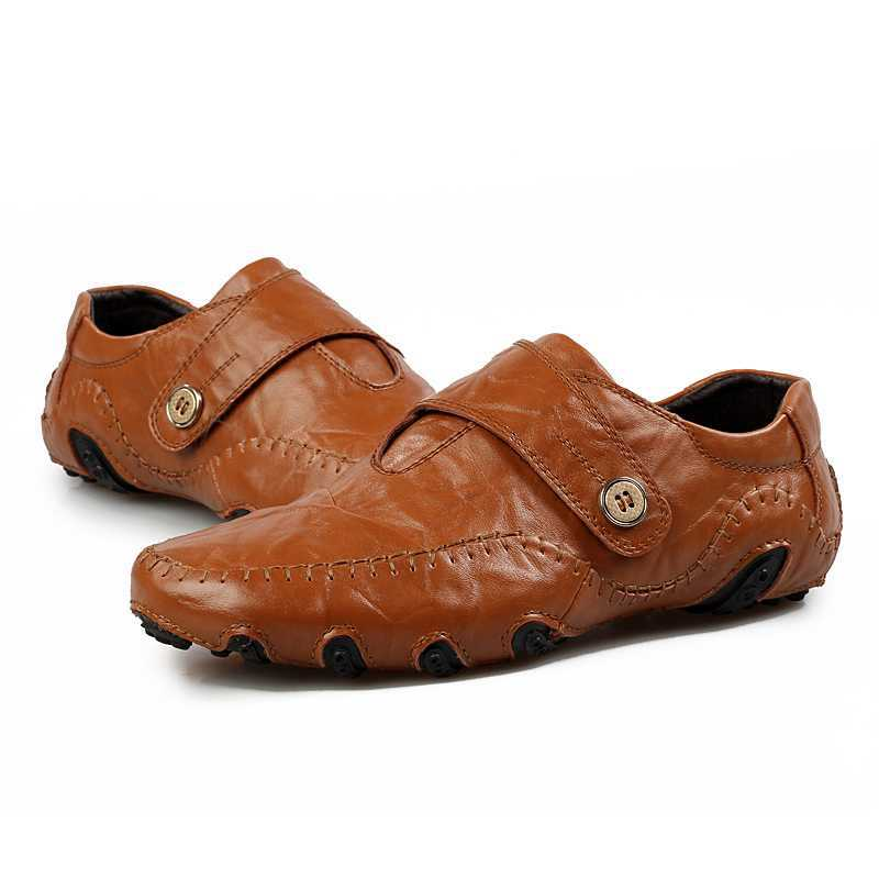 2014 shoes best quality genuine leather flats