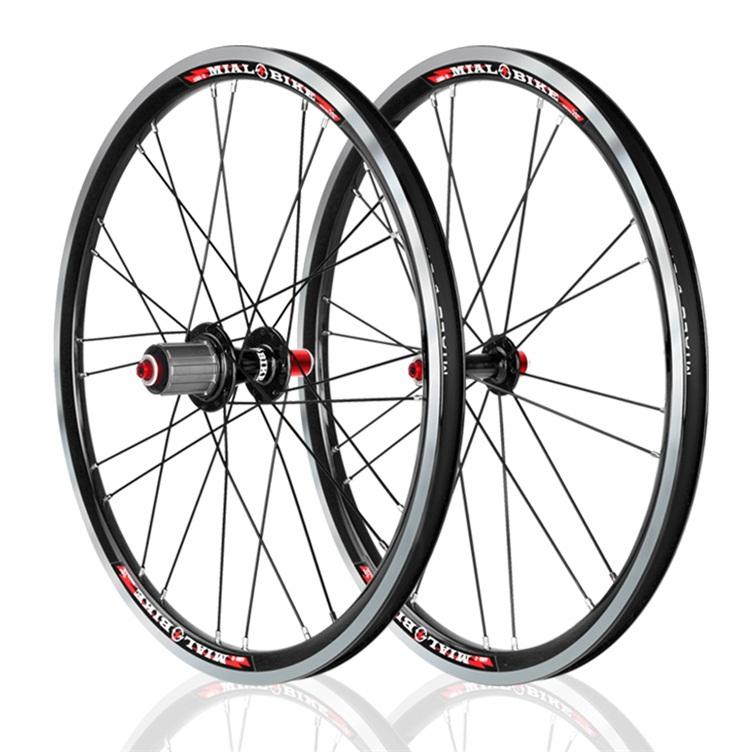 Здесь можно купить  Mialo single speed ultralight folding bike wheelset 20 inch alloy wheel BMX wheel bmx part  Спорт и развлечения